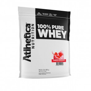 100% Pure Whey (850g) MORANGO – Atlhetica Nutrition