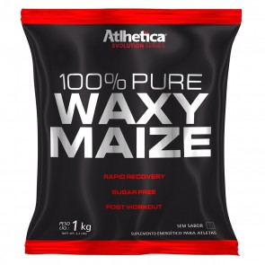 100% Waxy Maize (1kg) NATURAL – Atlhetica Nutrition