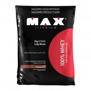 100% Whey CHOCOLATE (2kg) – Max Titanium