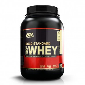 100% Whey Gold Standard 2lbs (907g) BAUNILHA – Optimum Nutrition