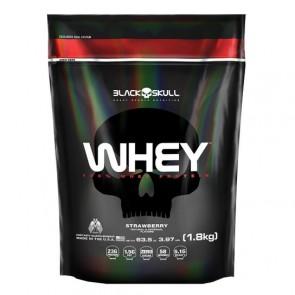 3W Whey Protein (1,8kg) MORANGO - Black Skull