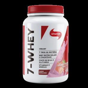 7-Whey Creamy (900g) MORANGO – Vitafor