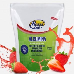 Albumina (500g) MORANGO – Maxxi Ovos
