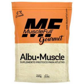 Albumina Albu-Muscle (450g) BAUNILHA – MuscleFull