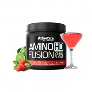 Amino HD Fusion (450g) MORANGO C/ LIMÃO – Atlhetica Nutrition