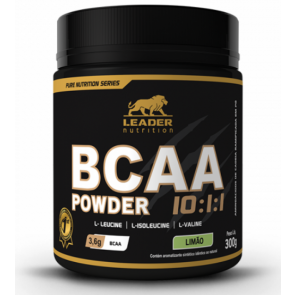 BCAA Powder 10:1:1 (300g) LIMÃO – Leader Nutrition