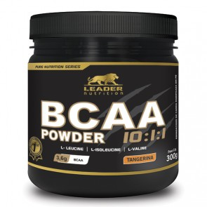 BCAA Powder 10:1:1 (300g) TANGERINA – Leader Nutrition