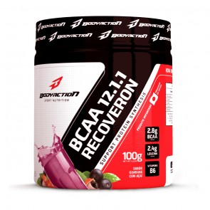 BCAA 12:1:1 Recoveron (100g) GUARANÁ C/ AÇAÍ – Body Action