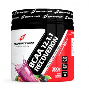 BCAA 12:1:1 Recoveron (300g) GUARANÁ C/ AÇAÍ – Body Action