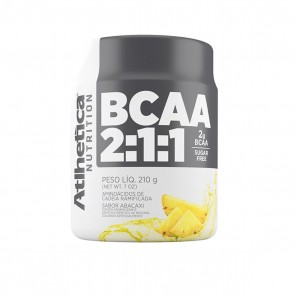 BCAA 2:1:1 SUGAR FREE (210g) ABACAXI – Atlhetica Nutrition