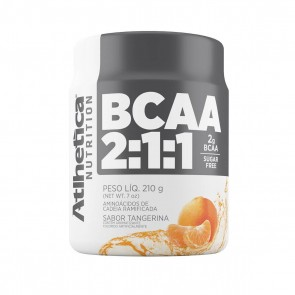 BCAA 2:1:1 SUGAR FREE (210g) TANGERINA – Athletica Nutrition
