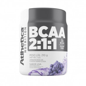 BCAA 2:1:1 SUGAR FREE (210g) UVA – Athletica Nutrition