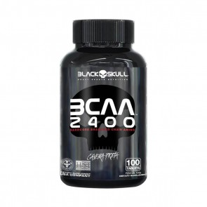 BCAA 2400 (100 Tabs) – Black Skull