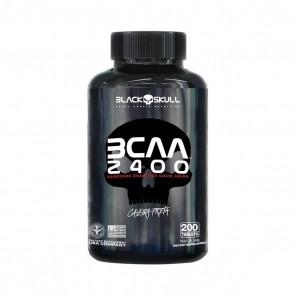 BCAA 2400 (200 Tabs) – Black Skull