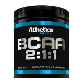 BCAA 2:1:1 PRO SERIES (210g) MORANGO C/ MARACUJÁ – Athletica Nutrition