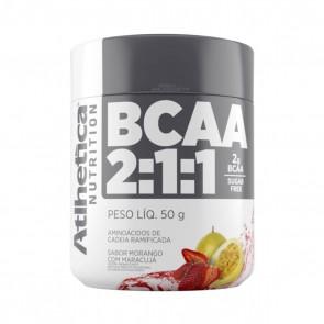 BCAA 2:1:1 SUGAR FREE (50g) MORANGO C/ MARACUJÁ - Atlhetica Nutrition