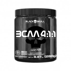 BCAA 4:1:1 (280g) AÇAÍ COM GUARANÁ – Black Skull
