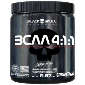BCAA 4:1:1 (280g) LARANJA C/ ACEROLA – Black Skull