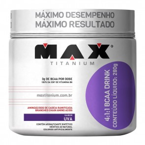 BCAA Drink 4:1:1 (280g) UVA – Max Titanium