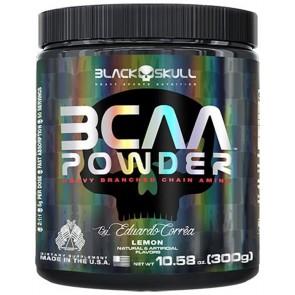 BCAA Powder (300g) LEMON – Black Skull