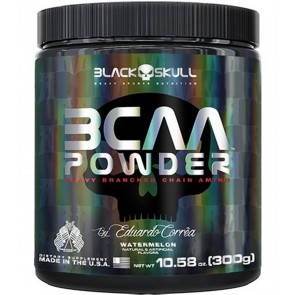 BCAA Powder (300g) WATERMELON – Black Skull