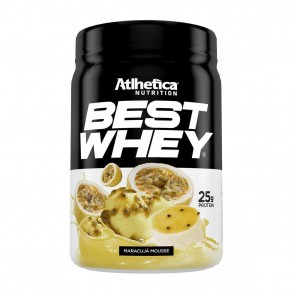 Best Whey (450g) MARACUJÁ MOUSSE – Athletica Nutrition