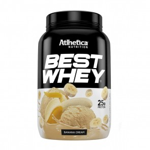 Best Whey (900g) BANANA CREAM - Atlhetica Nutrition