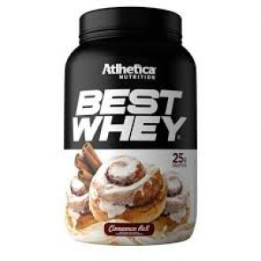 Best Whey (900g) CINNAMON ROLL – Atlhetica Nutrition