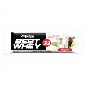Best Whey Bar (AVULSA de 30g) ORIGINAL - Athletica Nutrition