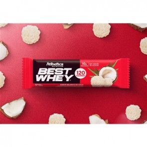 Best Whey Bar (AVULSA de 32g) BEIJINHO DE CÔCO - Athletica Nutrition