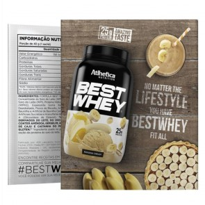 Best Whey Sache (Avulso) BANANA CREAM – Atlhetica Nutrition
