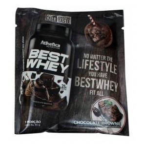 Best Whey Sache (Avulso) BROWNIE DE CHOCOLATE – Atlhetica Nutrition