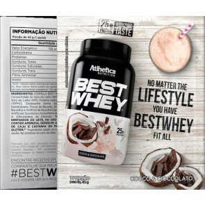 Best Whey Sache (Avulso) CHOCO COCONUT – Atlhetica Nutrition