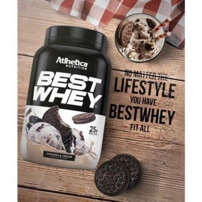 Best Whey Sache (Avulso) COOKIES 'N CREAM– Atlhetica Nutrition