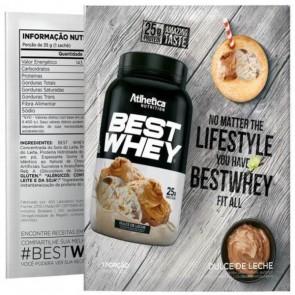 Best Whey Sache (Avulso) DOCE DE LEITE – Atlhetica Nutrition