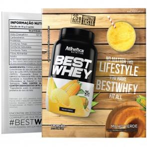 Best Whey Sache (Avulso) MILHO VERDE – Atlhetica Nutrition