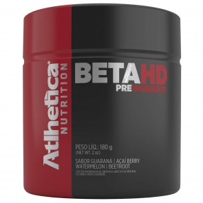 Beta HD Pre Workout (180g) GUARANÁ COM AÇAÍ – Atlhetica Nutrition