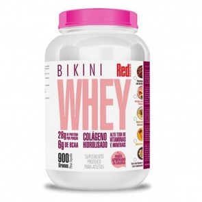 Bikini Whey (900g) MORANGO – Red Series