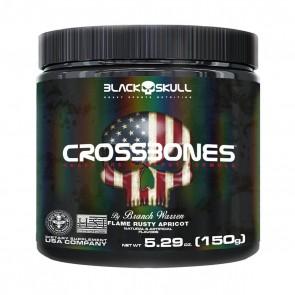 CROSSBONES (150g) FLAME RUSTY APRICOT – Black Skull