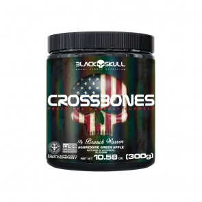 CROSSBONES (300g) AGRESSIVE GREEN APPLE – Black Skull