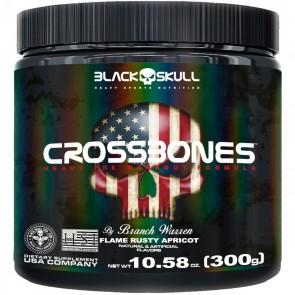 CROSSBONES (300g) FLAME RUSTY APRICOT – Black Skull