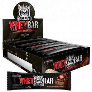 Darkness Whey Bar (720g 8 unid.) CHOCOLATE MEIO AMARGO COM CASTANHAS – INTEGRALMEDICA
