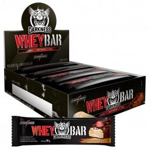 Darkness Whey Bar (720g 8 unid.) PASTA DE AMENDOIM – INTEGRALMEDICA