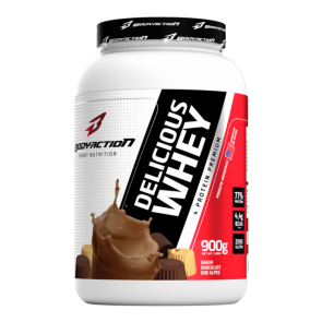 Delicious Whey (900g) CHOCOLATE DOS ALPES – Body Action