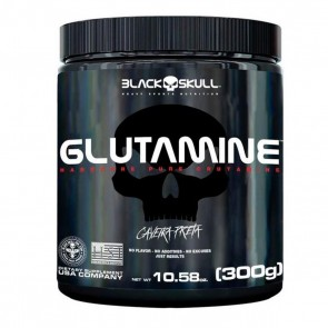 GLUTAMINE (300g) CAVEIRA PRETA – Black Skull