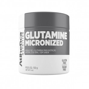 Glutamine Micronized (150g) NATURAL – Atlhetica Nutrition