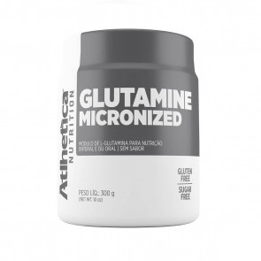 Glutamine Micronized (300g) NATURAL – Atlhetica Nutrition