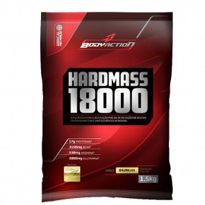 Hardmass 18000 (1,5kg) BAUNILHA – Body Action