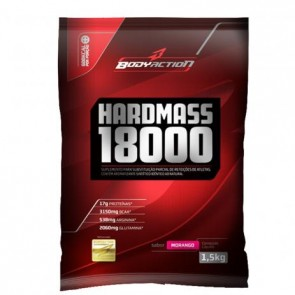 Hardmass 18000 (1,5kg) MORANGO – Body Action