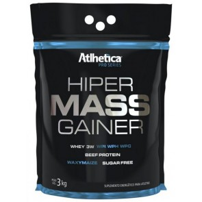 Hiper Mass Gainer CHOCOLATE (3kg) - Atlhetica Nutrition